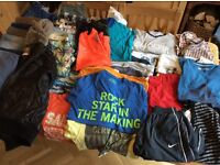 Bundle of boys clothes size 14, 15 & 16 years. Mixture of winter and summer items. Mainly from Next.