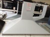 90cm stainless steel cooker hood. £60 new/graded