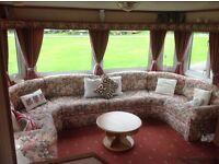 Willerby Shrewsbury 6 berth caravan in mid Wales for sale