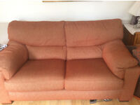 Two identical settees