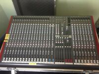 Allen & Heath ZED 428 Mixing Desk - Flight Cased
