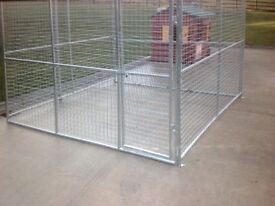 8 BY 8 FT FULLY GALVANISED DOG PEN RUN