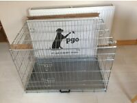 Large metal dog crate New!!