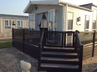 Platinum mobile home on fantastic plot