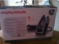 morphy richards atomist vapour iron new unwanted gift