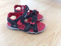 Boys timberland Sandals size 10.5