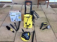 Karcher K3.500 pressure washer 2012 model and T350 surface cleaner