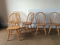 Kitchen/dining chairs x 5