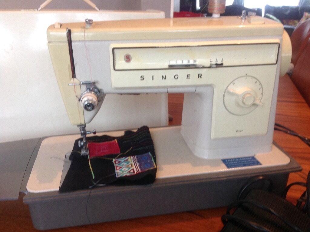 Singer 507 zig zag and straight stitch sewing machine