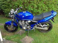 suzuki bandit 600 blue