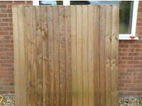 Fence Panel made but not needed from Ellis Timber