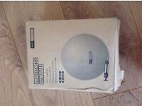 Pro Fittness gym / exercise ball - blue 65cm. Pump included. Not used. Collection only please.