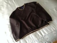 GOLF JACKETS - 3 in total - ONE NEW + TWO VGC - will sell separately