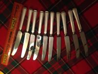 Athur Price Silver Plated EPNS Cutlery 72 pieces pre owned