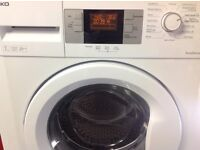 BEKO WASHER FAST 1400 SPIN SPEED AND BIG 7KG LOAD