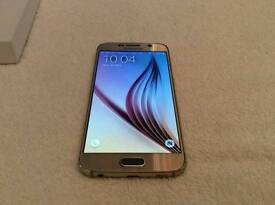 Samsung Galaxy s6 Gold 64GB UNLOCKED BRAND NEW