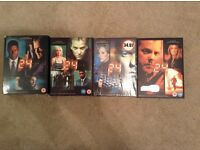 DVD box sets - 24 seasons 2, 3, 4 & 5
