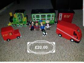 Postman pat characters and vehicles