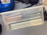 Art Supply Box - Paper, Card, Sketchbooks, Folders Etc...