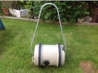 Aquaroll and handle for caravan/motorhome. 40litres. Exc cond.