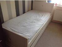 Girls trundle Bed & Wardrobe