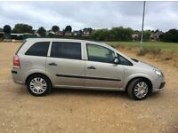 Vauxhall Zafira Life 1.6 2007 Complete with MOT - LOW MILEAGE