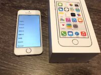 iPhone 5s white 16GB Vodafone - excellent condition
