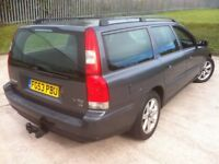 2003 VOLVO V70 D5 **TURBO DIESEL ESTATE WITH TOW BAR**MOT UNTIL OCTOBER 2018** FULL SERVICE HISTORY