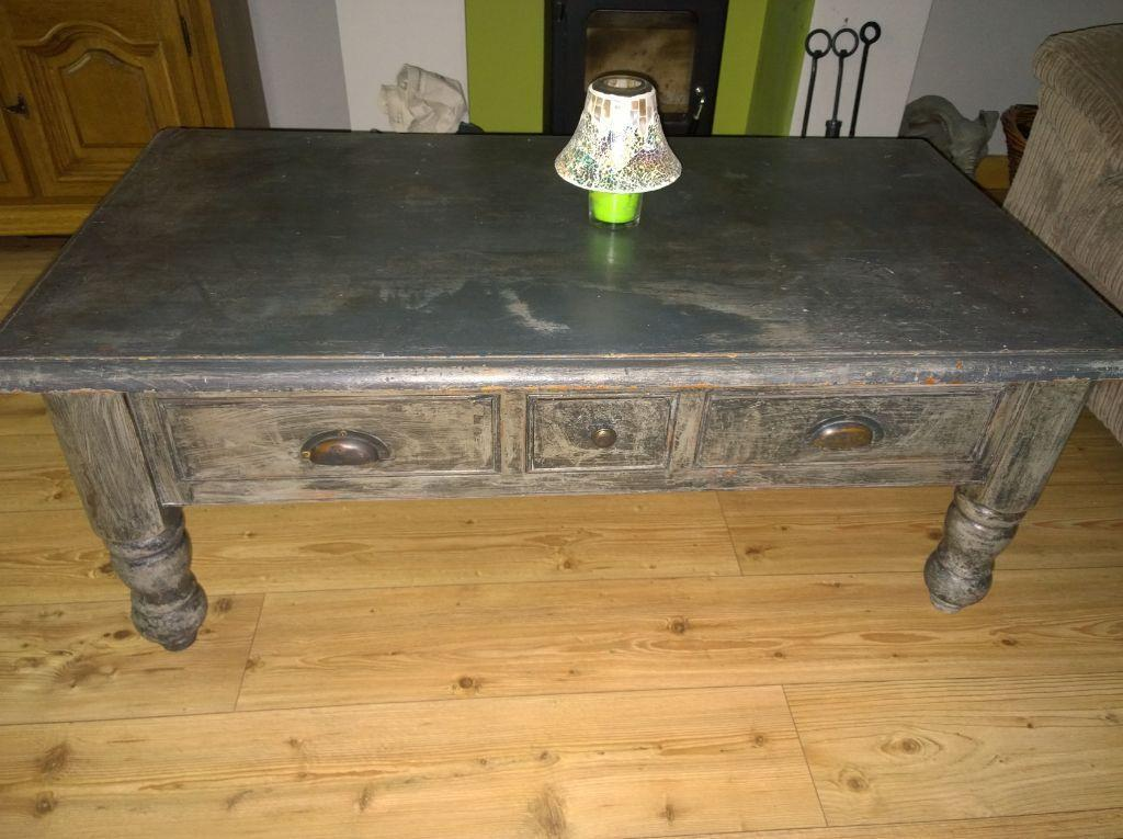Coffee Table large with 3 drawers in Knowle West  : 86 from www.gumtree.com size 1024 x 765 jpeg 98kB