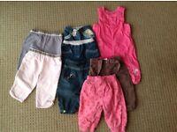 Girls 3-6 month trouser bundle.