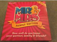Mr and Mrs Board Game