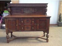 Solid wood sideboard/dresser