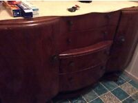 50s sideboard good condition free to uplift