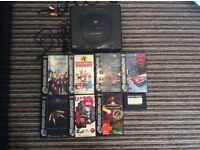 Sega Saturn and 7 games
