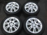 Vauxhall Corsa D CDTI SXI 5 Stud Alloys.