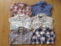 Joules and scotch shunk boys6 shirts bundle 3-4