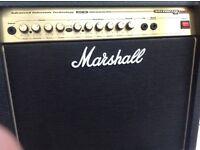 Marshall AVT 2000 50 watt guitar amp.