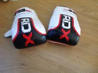 Punch bag sparring boxing gloves