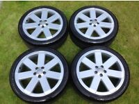 Audi TT Mk1 v6 Ronal Alloy Wheels. Immaculate refurbished 225 40 18 TT 180 225