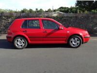 Volkswagen Golf 1.4 Match, Two Lady Owners, Timing Belt Aug.,MOT Aug 2017