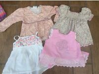 Stunning selection of girl's baby clothes age 12-18mths approx