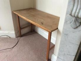 Side or sewing table