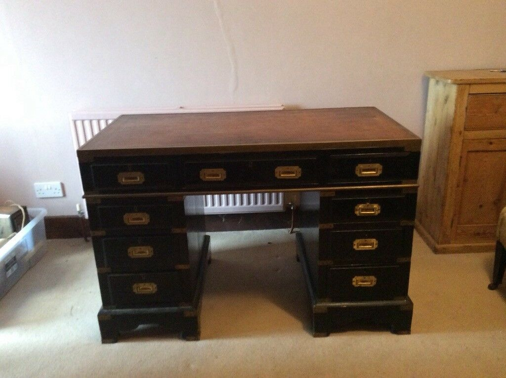Antique captains desk - Antique Captains Desk In Verwood, Dorset Gumtree