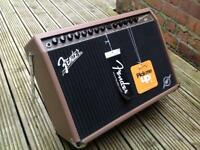 Top of the range Fender acoustic/electric 150 watt amp - brand new boxed