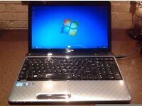 Toshiba Satellite L755-13H Laptop, i3-2310M Quad Core 2.10GHz, RAM 4GB, HDD 640GB, Windows 7