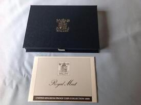 Royal Mint Proof Coin Collection 1989