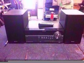 Sony CMT-MX550i Audio Shelf System