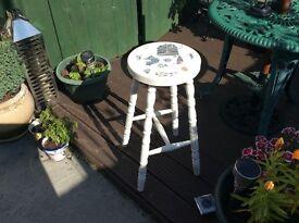 Nicely refurbished stool
