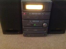 Denon micro CD player