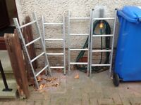 Ramsay aluminium 4 piece extendable ladder